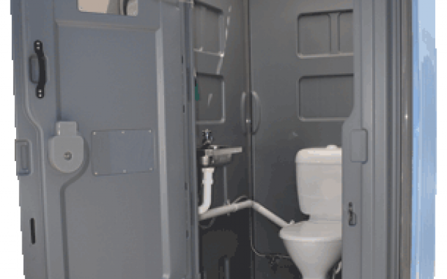 Mains & Sewer Connected Portable Toilets